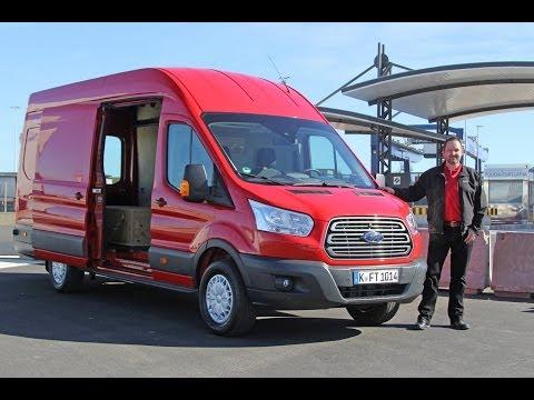 Ford Transit: Variabler Lastenesel - Test & Fahrbericht