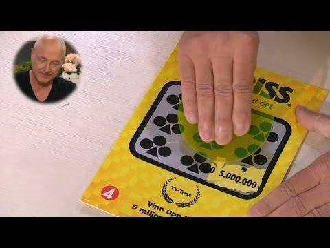Gösta skrapar fram storvinst i Triss - Nyhetsmorgon (TV4)