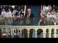 Sights And Sounds Of Donald Trumps Presidential Inauguration | NBC Nightly News