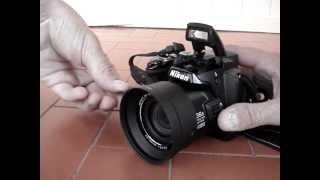 Tubo Adaptador Nikon Coolpix P500
