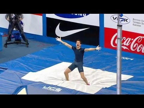record du monde de saut à la perche à 6,16 mètres - 15/02