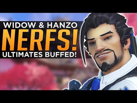 Overwatch: Hanzo & Widow NERFED! - Ultimates BUFFED!