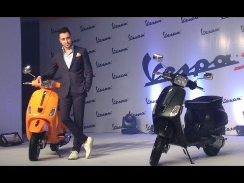 Imran Khan Launches The New VESPA
