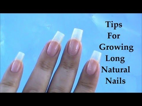 how to grow nails in 1 day naturally