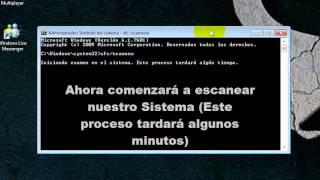 Reparar Archivos Dañados De Windows Con Símbolo Del