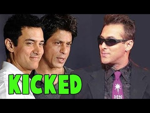 Shahrukh Khan and Aamir Khan to be 'KICKED' by Salman Khan | Bollywood News