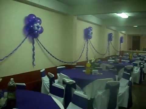 Decoracion con globos xv a os en san mateo tlaltenango for Decoracion de 15 anos con globos