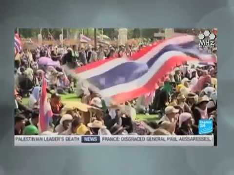 กำนันสุเทพ Thailand Protests Ease Ahead Of King's Birthday