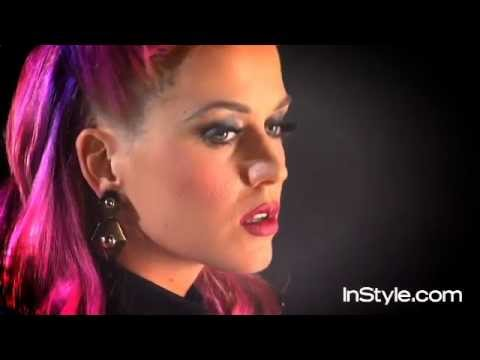 Katy Perry InStyle 2011 Photoshoot Behind the scenes