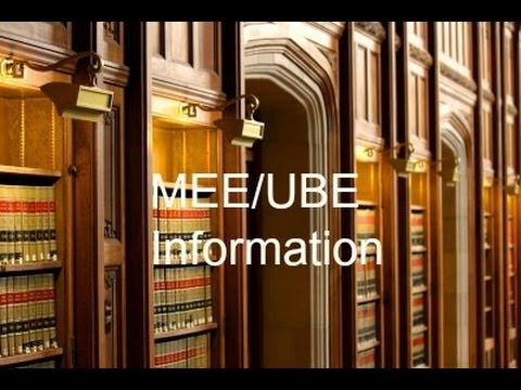 MEE-UBE Information