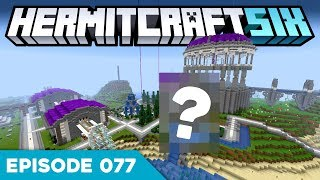 Hermitcraft VI 077 | GIANT MERMAID STATUE?! 🧜‍♀️ | A Minecraft Let's Play