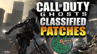 Call Of Duty Ghosts Secret Classified Patches! How To