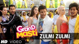 Zulmi Zulmi Grand Masti Full Song Riteish Deshmukh