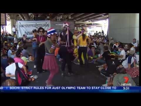 กำนันสุเทพ Thailand Protests Multiple deaths at Thailand polls