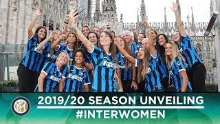 INTER WOMEN'S 2019/20 SEASON UNVEILING @ RINASCENTE MILANO 🖤💙??[SUB ENG]