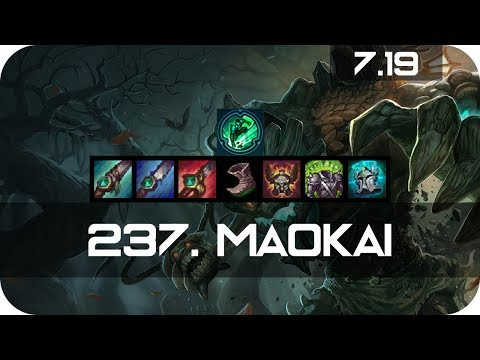 Maokai Jungle vs Wukong Season 7 s7 Patch 7.19 2017 Gameplay Guide Build Normals