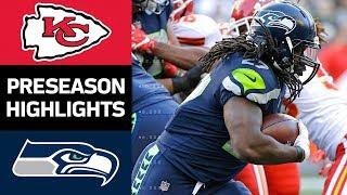 Chiefs vs. Seahawks   NFL Preseason Week 3 Game Highlights