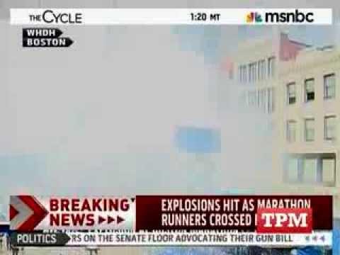 نفجار ضخم في ماراثون بوسطن الأمريكيــة