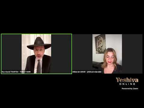Les mariages mixtes Debat avec Deborah AMAR et RAV David TOUITOU ET DEBORAH AMAR