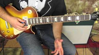 How To Play Even Flow By Pearl Jam Part 1 Gibson Les