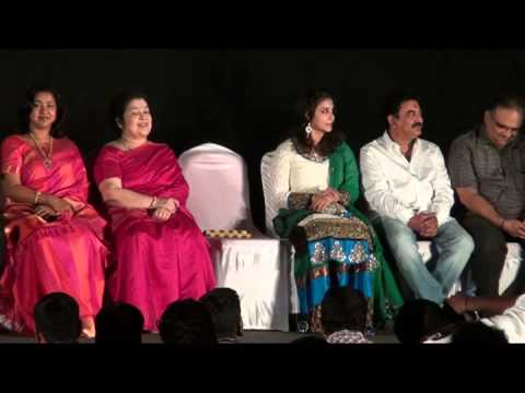 Actress Suhasini Maniratnam at Malini 22 Palayamkottai Audio Launch