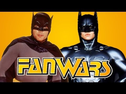 Best Batman - Adam West vs Val Kilmer - FanWars - Ep2