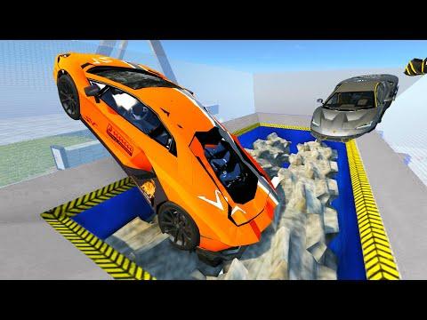 Car Shredding Compilation #2 (BeamNG Drive) Experiments