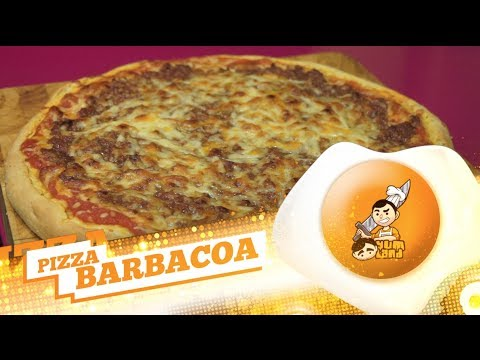 Receta 140# Pizza Barbacoa