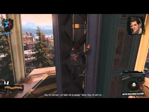 Infamous Second Son: First review - Smoke/Rauch Power  - Space Needle Action - 1080p german PS4