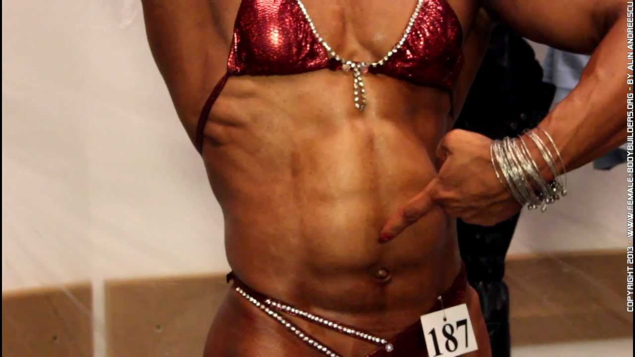 Belly dance by muscular abs explosion - 54.9KB