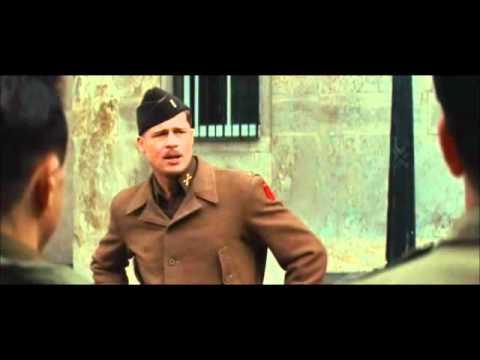 Inglorious Basterds Aldo Raine Speech - YouTube