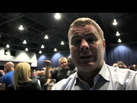 GLENN McCRORY TALKS ANTHONY CROLLA v JOHN MURRAY @ WEIGH-IN / RISE UP