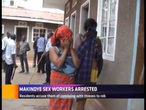 MAKINDYE SEX WORKERS ARESTED