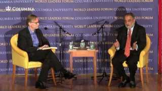 World Leaders Forum: U.S. Foreign Policy in Afghanistan and Pakistan