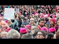 Do womens marches resonate outside liberal cities?
