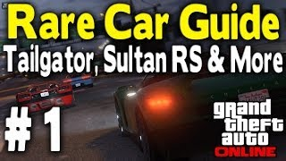 "GTA Online Ultimate ""Rare Car"" Guide Part 1 (Obey"