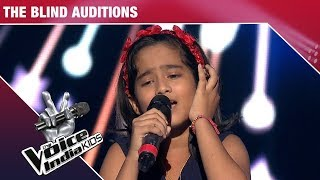 Krishnakshree Performs on Aao Huzoor Tumko - Episode 9 - Dec 9, 2017 - The Voice India Kids Season 2
