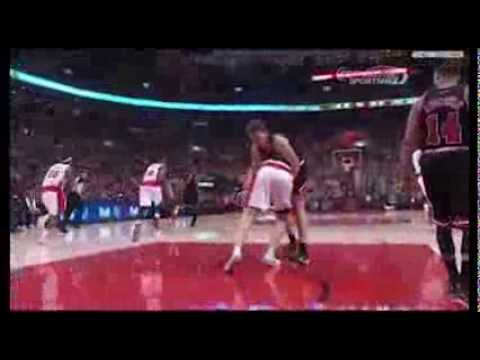 Tyler Hansbrough vs. Mike Dunleavy (JR Commentary)