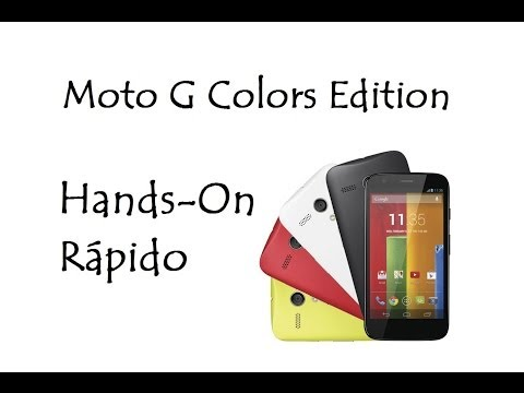 Moto G Colors Edition / Hands-On Rápido Android 4.3 / DavidTecNew / PT BR