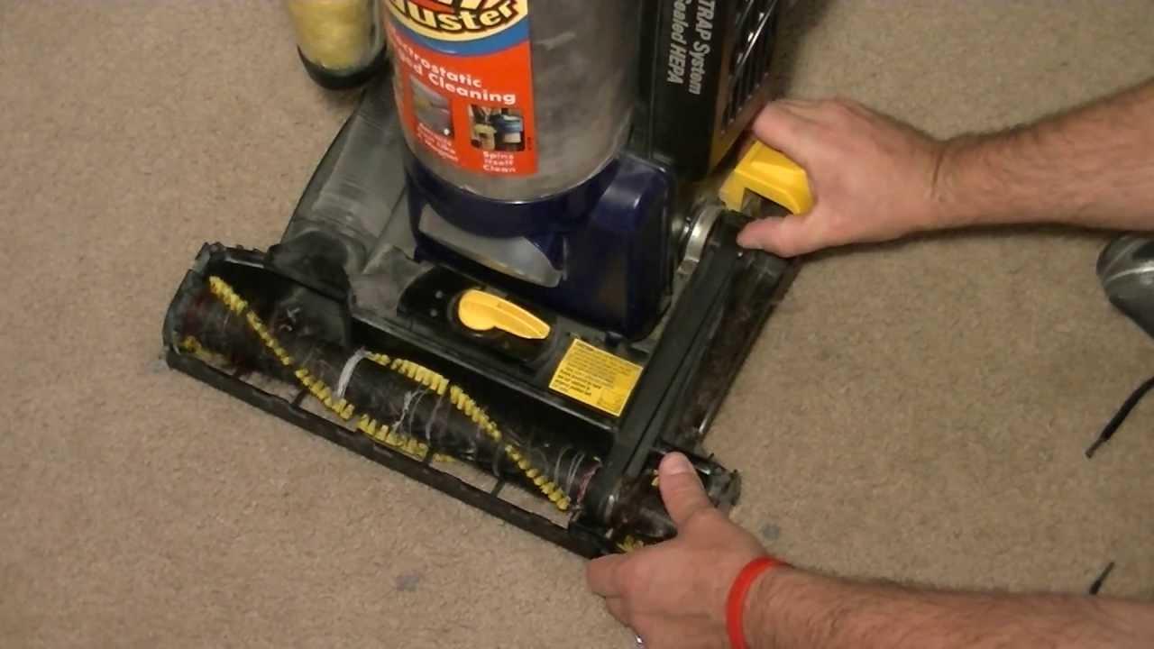 Replacing Vacuum Belt On A Eureka U Type Vacuum Youtube