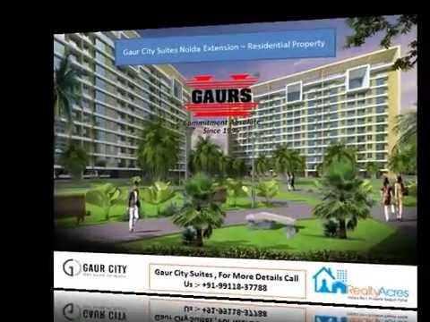 A leading pathway to Gaur City Service Apartments