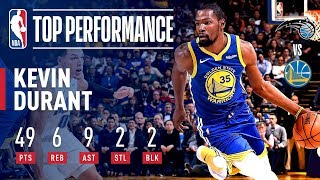 Kevin Durant Leads The Warriors To Victory With 49 POINTS | November 26, 2018