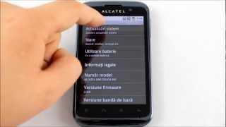 Alcatel OT 991 Actalizare Software