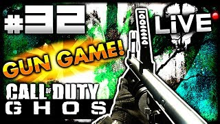 "CoD Ghosts ""GUN GAME!"" LIVE W/ Elite #32 (Call Of Duty"
