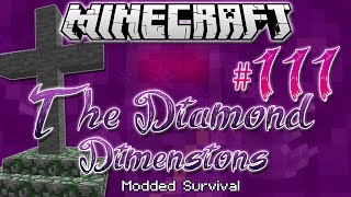 """""""REST IN PEACE...""""   Diamond Dimensions Modded Survival #111   Minecraft"""