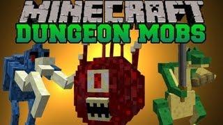 Minecraft Mod Showcase Dungeon Mobs Mod Mod Review