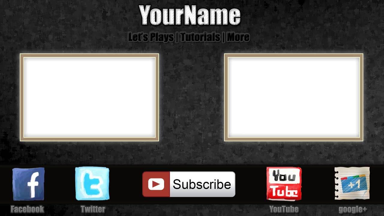 Youtube Outro Template Maker 50999 | TRENDNET
