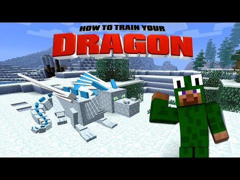 Minecraft - HOW TO TRAIN YOUR DRAGON 2 - [11] 'Frozen Dragon Rescue'
