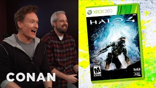 "Conan O'Brien Reviews ""Halo 4"""