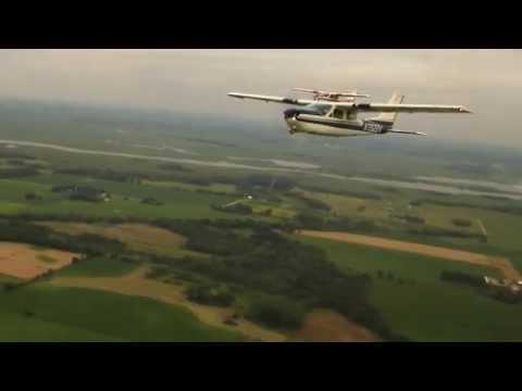 Cessna Cardinal Formation, Juneau, Wisconsin (One Republic Soundtrack)